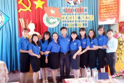 Đại hội chi đoàn Hoàng Văn Thụ nhiệm kỳ 2017-2018